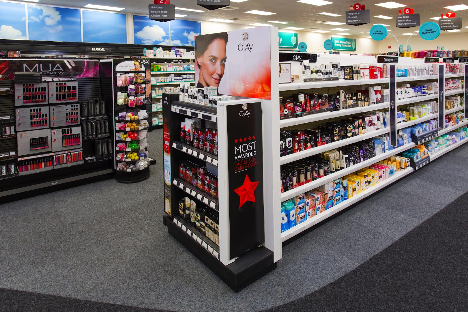 CVS/pharmacy New Store Enhancements in Health and Beauty +