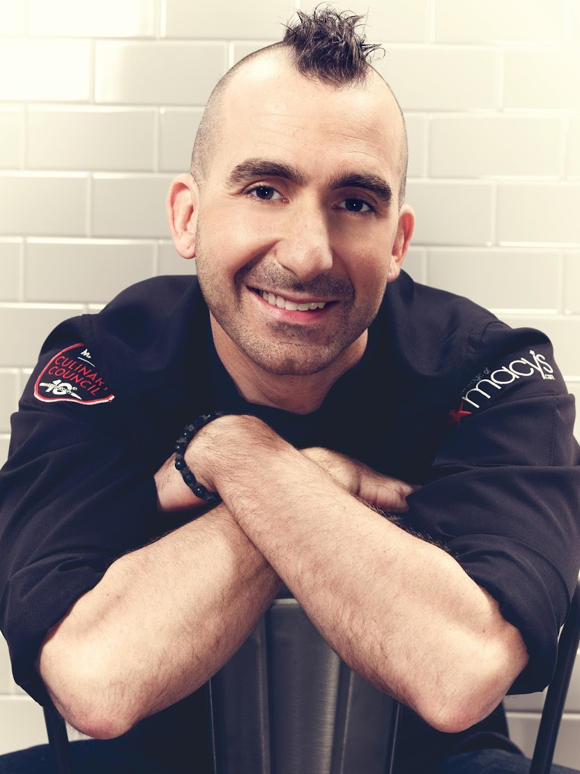 Chef Marc Forgione at Macy's Culinary Council 2016