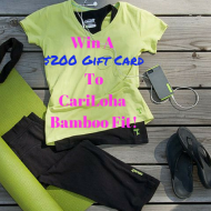 Cariloha Bamboo Fit $200 Gift Card Giveaway