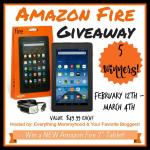 Amazon Fire Tablet Giveaway (5 Winners!)
