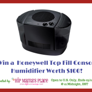 Cold Weather Checklist For A Happy Home + Honeywell Top Fill Console Humidifier Giveaway!
