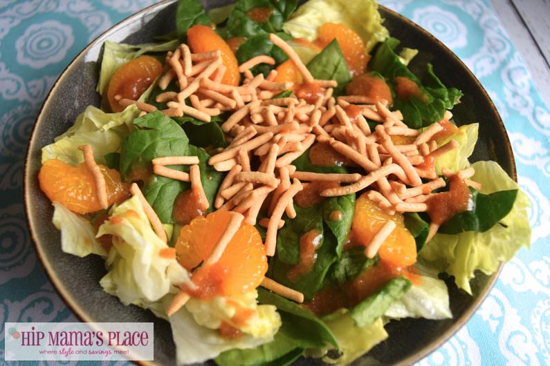 Crunchy Orange-Ginger Spring Salad