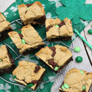 St. Patrick's Day Mint Brookies + A Fun Trivia!