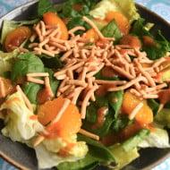 Crunchy Orange-Ginger Spring Salad and How to Freshen Up Your Spring Menu