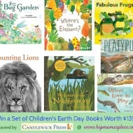 Earth Day Children's Books from Candlewick Press and a Book Prize Pack Giveaway!