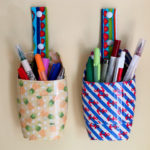Care To Recycle® Project: DIY Pencil Case Holders from Recycled Body Wash Bottles