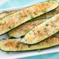 Baked Parmesan Zucchini Bites