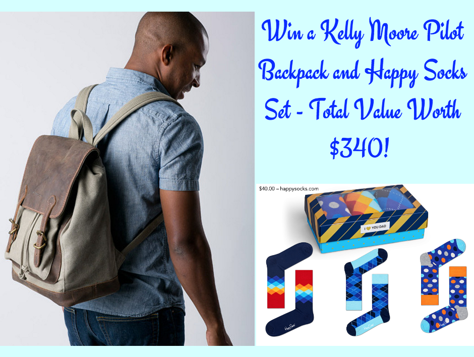 0d535028b2f8b Father s Day Gift Ideas  Kelly Moore Bag Pilot Backpack and Happy ...