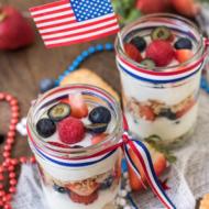 Make-Ahead Fruit & Yogurt Breakfast Parfaits Recipe