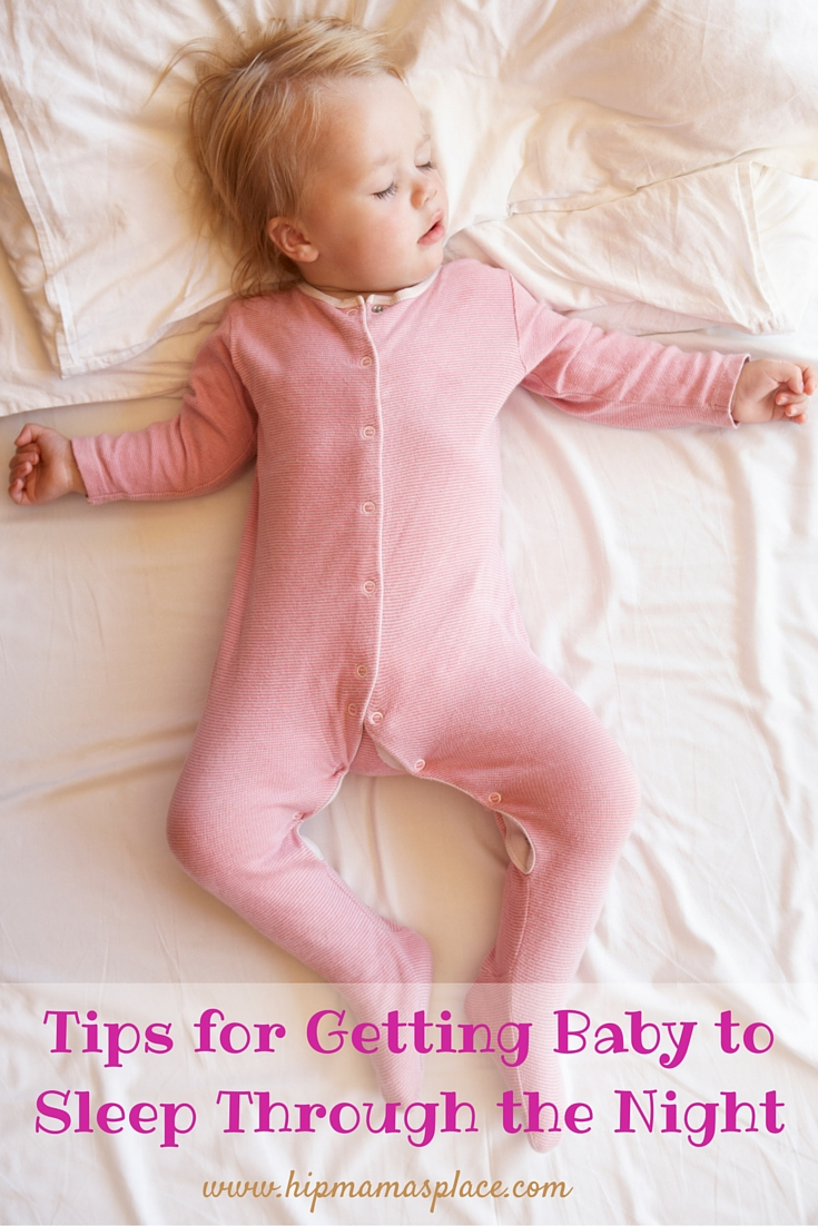 Tips for Getting Baby to Sleep Through the Night