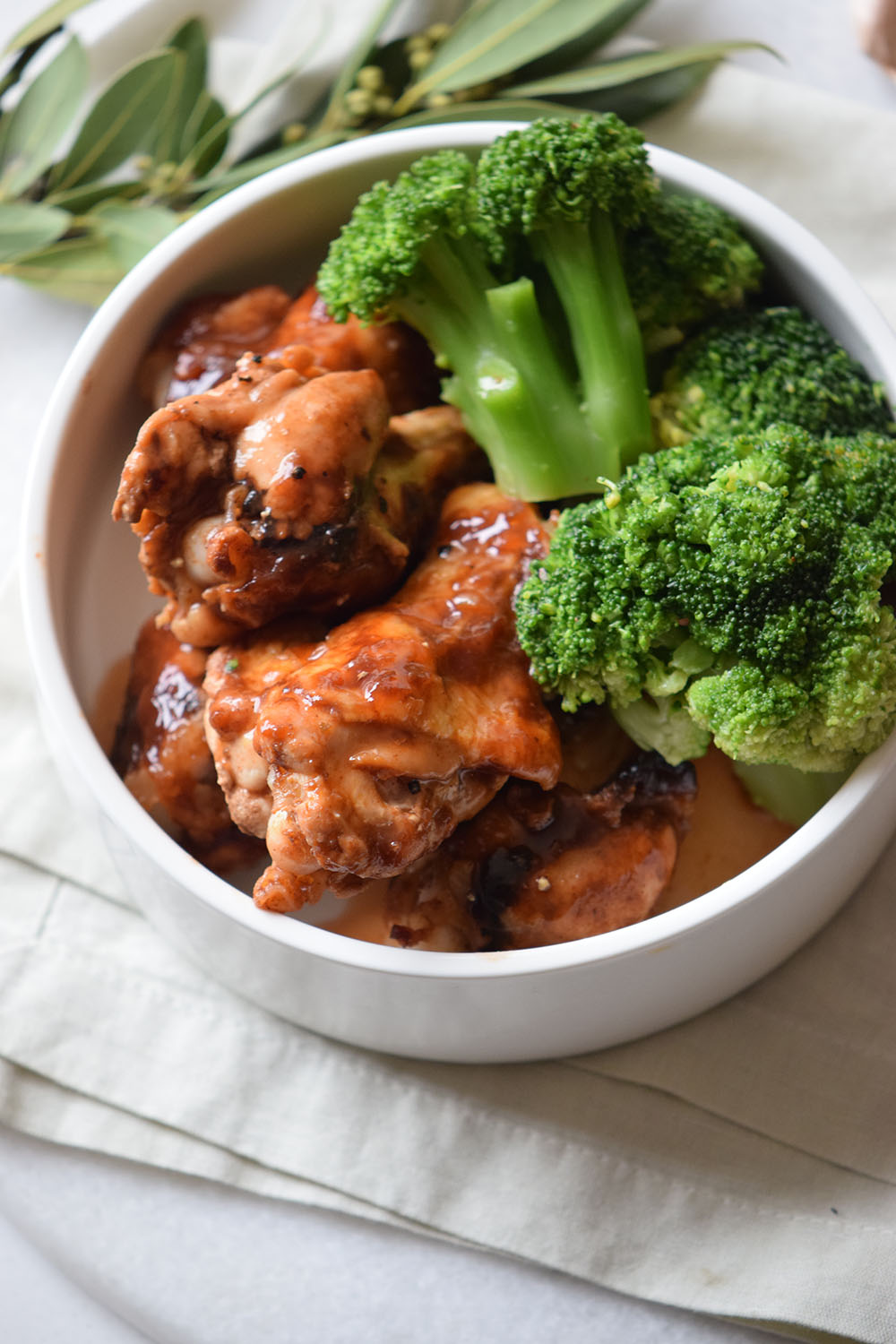 Baked Firecracker Chicken Wings recipe