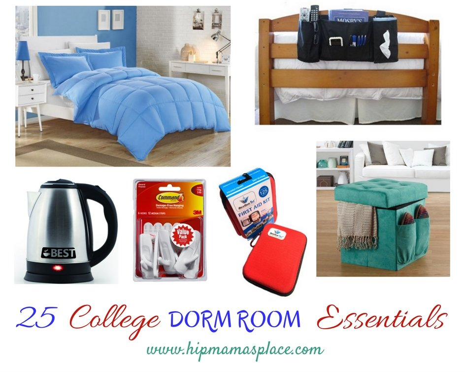 Things needed in a college dorm room-9787
