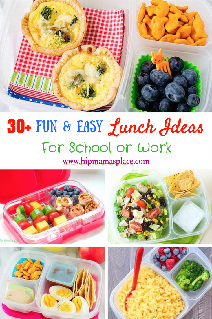Lunch Idea for School or Work