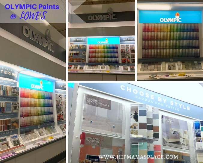 Olympic Paint at Lowe's
