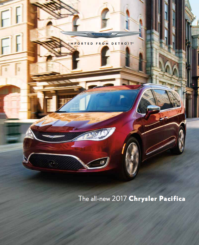 Win a 2017 Chrysler Pacifica