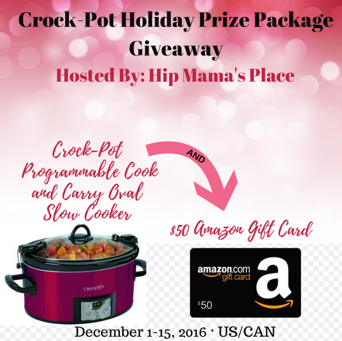 Win a Crock-Pot Holiday Prize Package Giveaway Worth $100 @ HipMamasPlace.com!