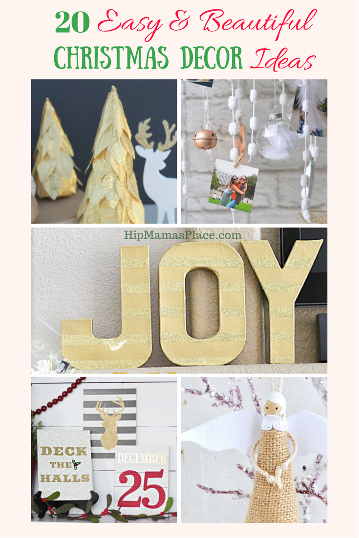20 Easy and Beautiful Christmas Decor Ideas