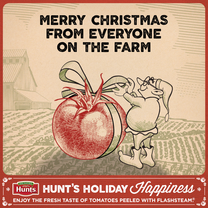 Hunt's Holiday Happiness