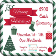 $200 Holiday Cash Giveaway!
