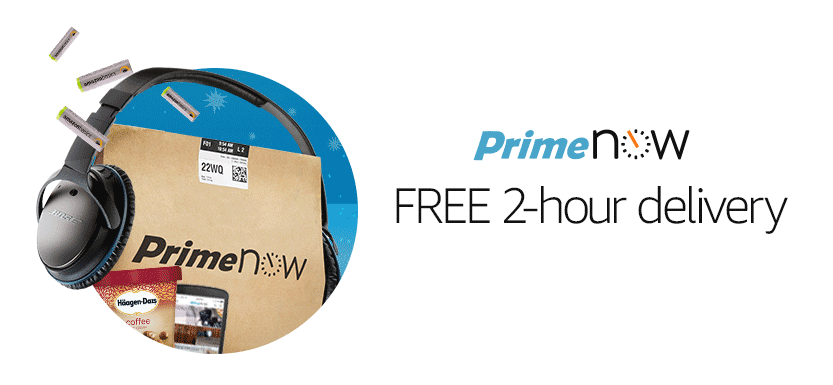 Amazon Prime Now: Get Superfast Delivery During the Holidays