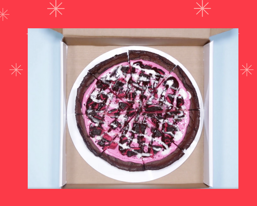 Polar Pizza by Baskin-Robbins