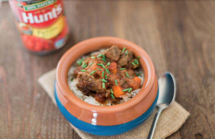 Hunt's Holiday Happiness: Beef Stew with Leeks