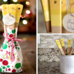 DIY Holiday Gift Idea: Painted Kitchen Utensils