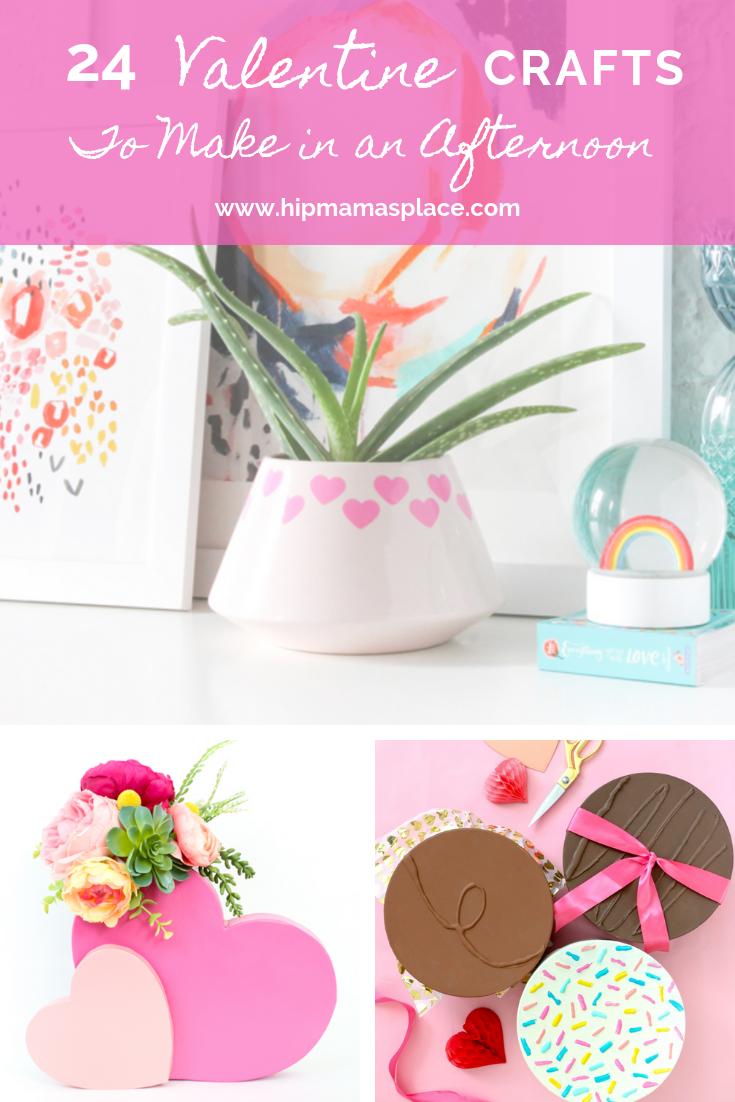 24 Valentine Crafts To Make In An Afternoon