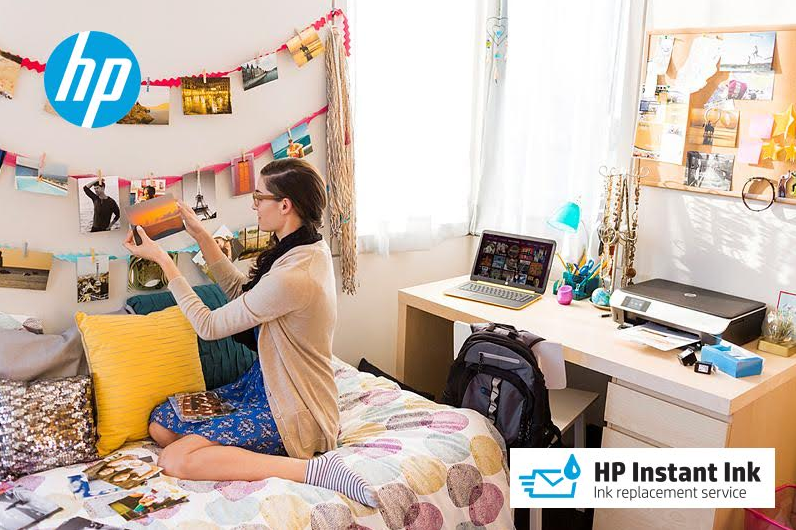 HP Instant Ink Replacement Service is great for DIY'ers and crafters ... get your first 3 months FREE!
