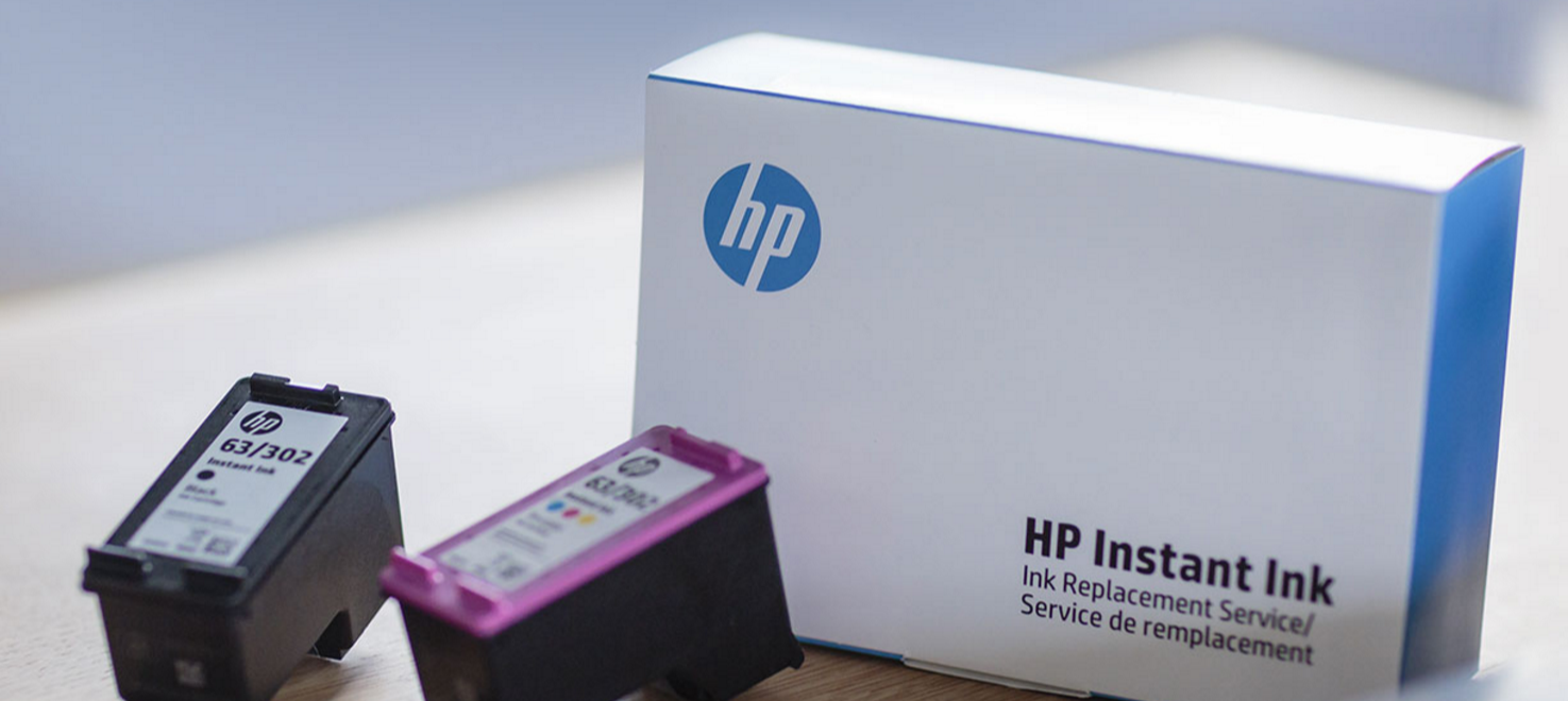 HP Instant Ink Replacement Service delivers to your door! Get the first 3 months FREE!
