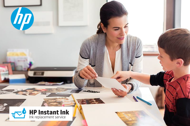 Teachers will save time and money on printing classroom projects by sining up for the afffordable HP Instant Ink Replacement Service.. get your first 3 months FREE!