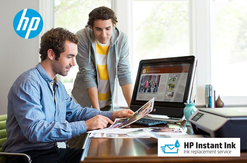 Small business owners can save time and money on printer ink with the HP Instant Ink Replacement Service .. get your first 3 months FREE!