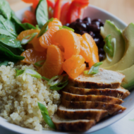 Wonderful Halos Mandarin and Quinoa Chicken Bowls + A Fun Giveaway!