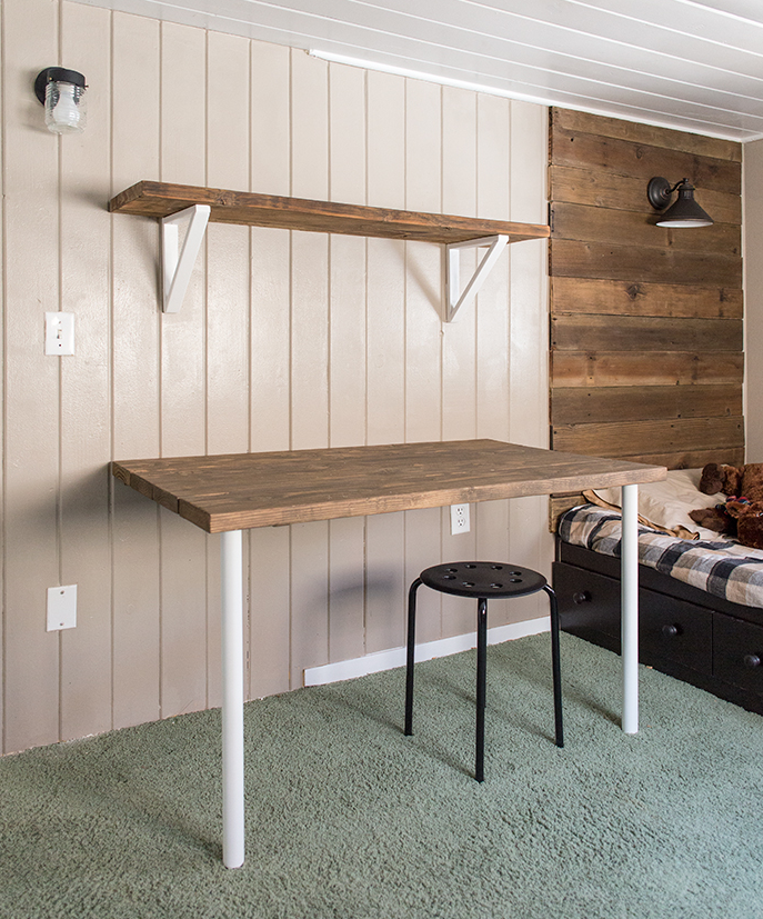 DIY Wood Pallet Shelving how-to guide!