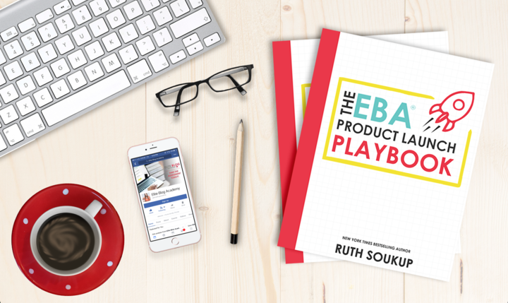 The EBA Product Launch Playbook will change your game when it comes to blogging successfully!