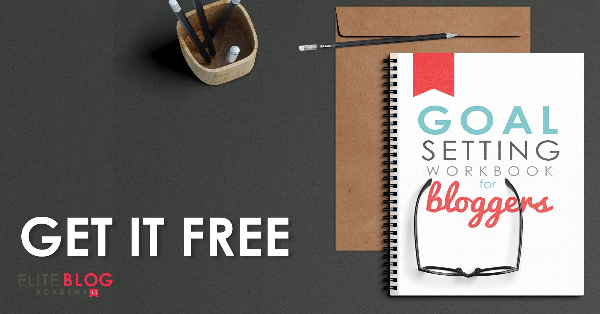 The Goal-setting Workbook for Bloggers Goal Setting Workbook for Bloggers is the perfect tool to help you take back your time by allowing you to clarify your purpose and prioritize what's really important.