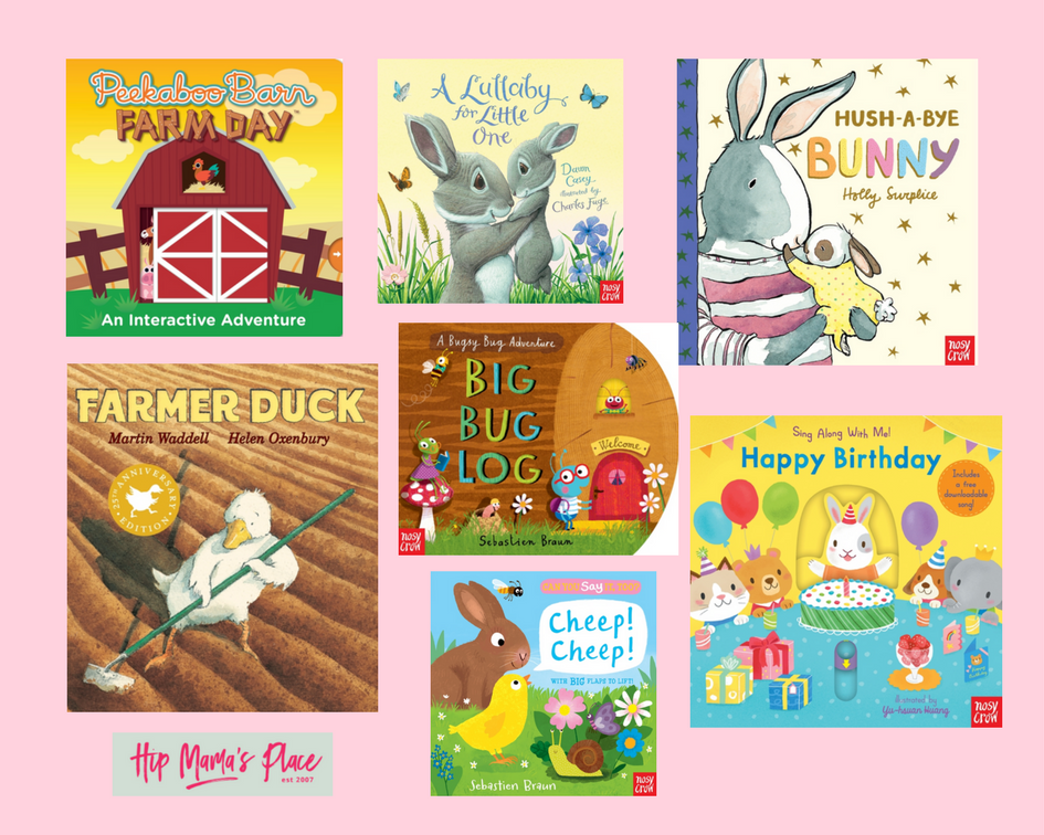 Candlewick Spring Children's Books giveaway!