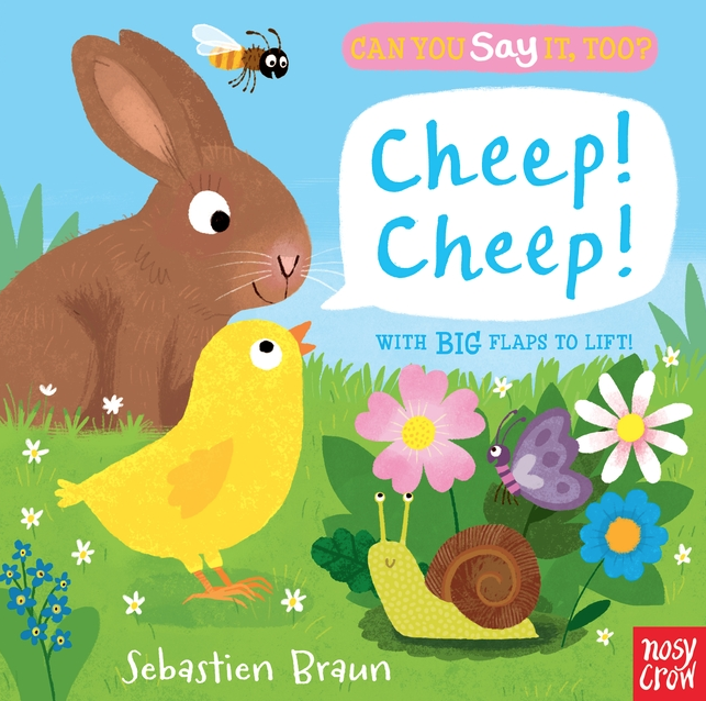 Five lavishly illustrated spreads, big recessed flaps, and a host of adorable animals to spot, name, and mimic combine in this delightful little board book series for the very young.