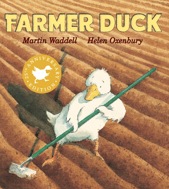 """Farmer Duck is a cute book that helps bring up a kid's version of """"teamwork"""" and empathy."""