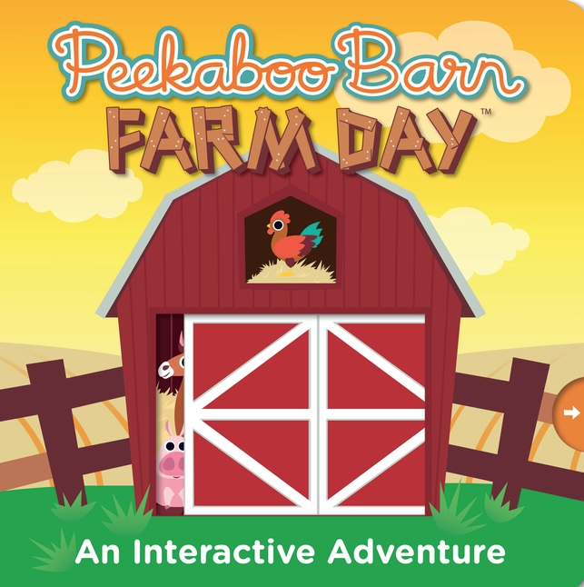 Peekabo Barn Farm Day is a fun interactive book that allows for some simple directions as well as fine motor skills all while discovering a new story.