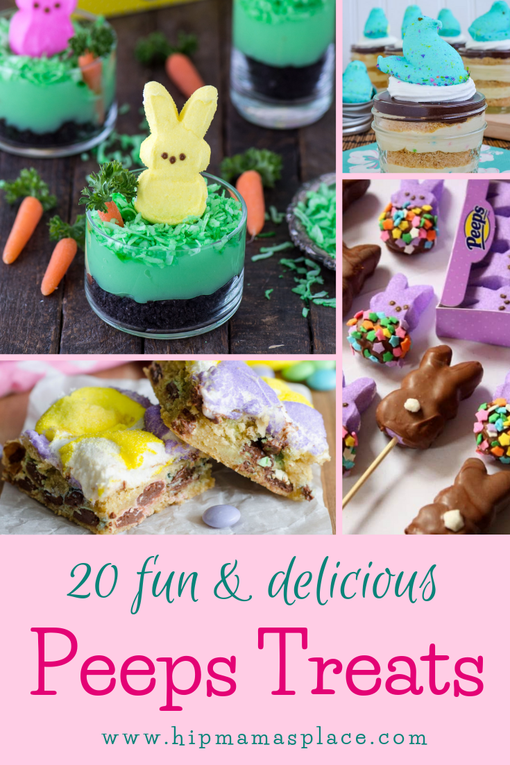 20 Fun and Delicious Peeps Treats