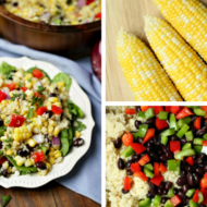 Sweet Corn and Bean Quinoa Salad with Sunshine Sweet Corn