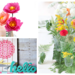 20 Gorgeous Flower Projects & Spring Decor Ideas For Your Home