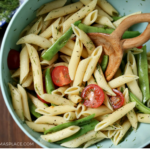 Pasta Salad Recipe: Penne with Green Beans and Tomatoes