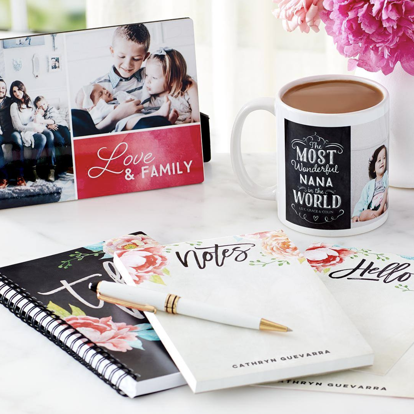Beautiful, personalized gifts for mom are all at TinyPrints.com!