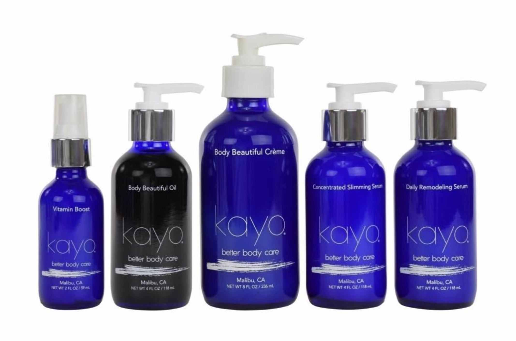 Kayo Better Body Care Collection