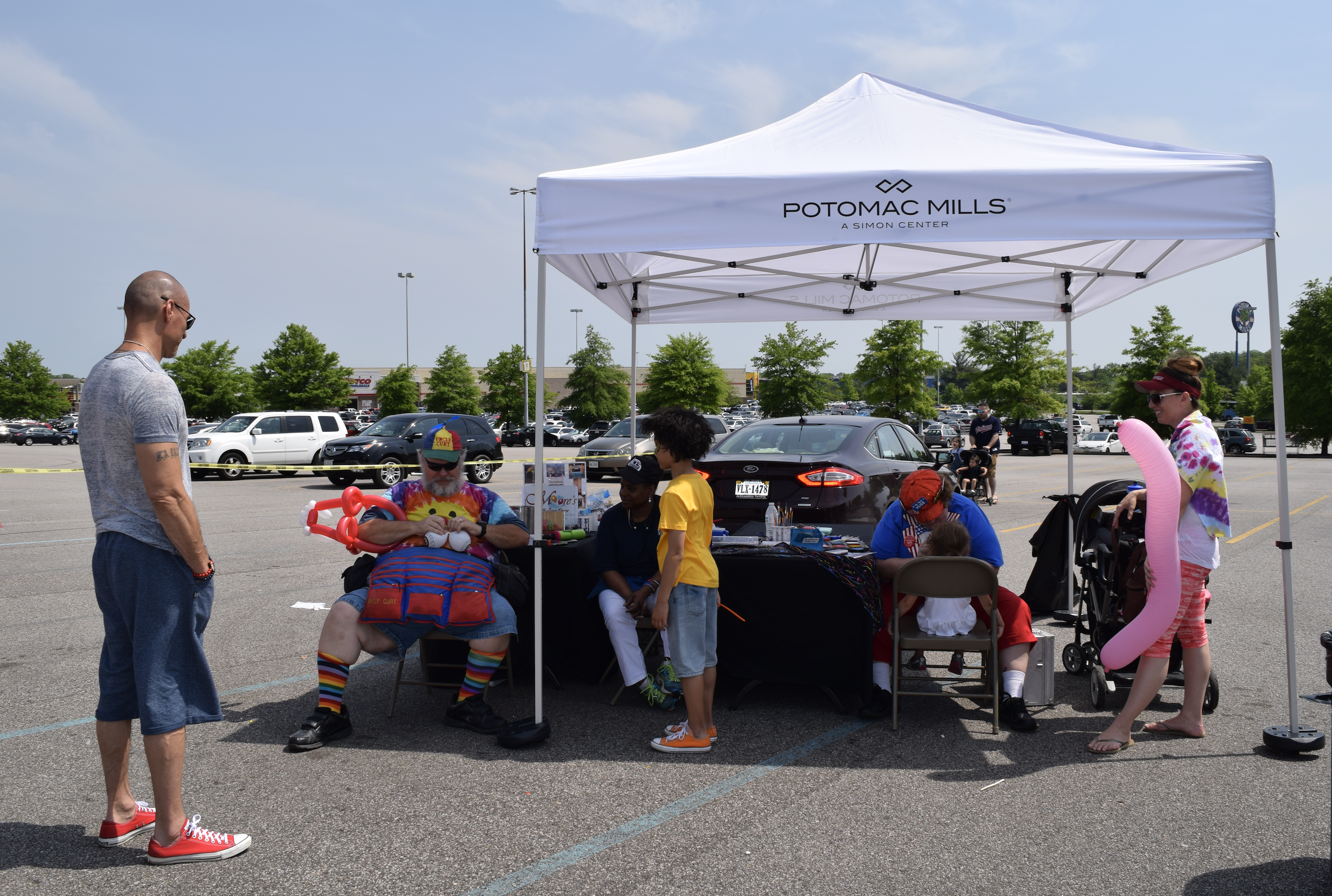 "Face painting is always fun for kids! ""The Market at Potomac Mills - Woodbridge, Virginia"