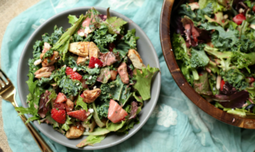 """My Visit at """"The Market At Potomac Mills"""" Opening Day +  Spring Salad with Strawberry Balsamic Dressing"""