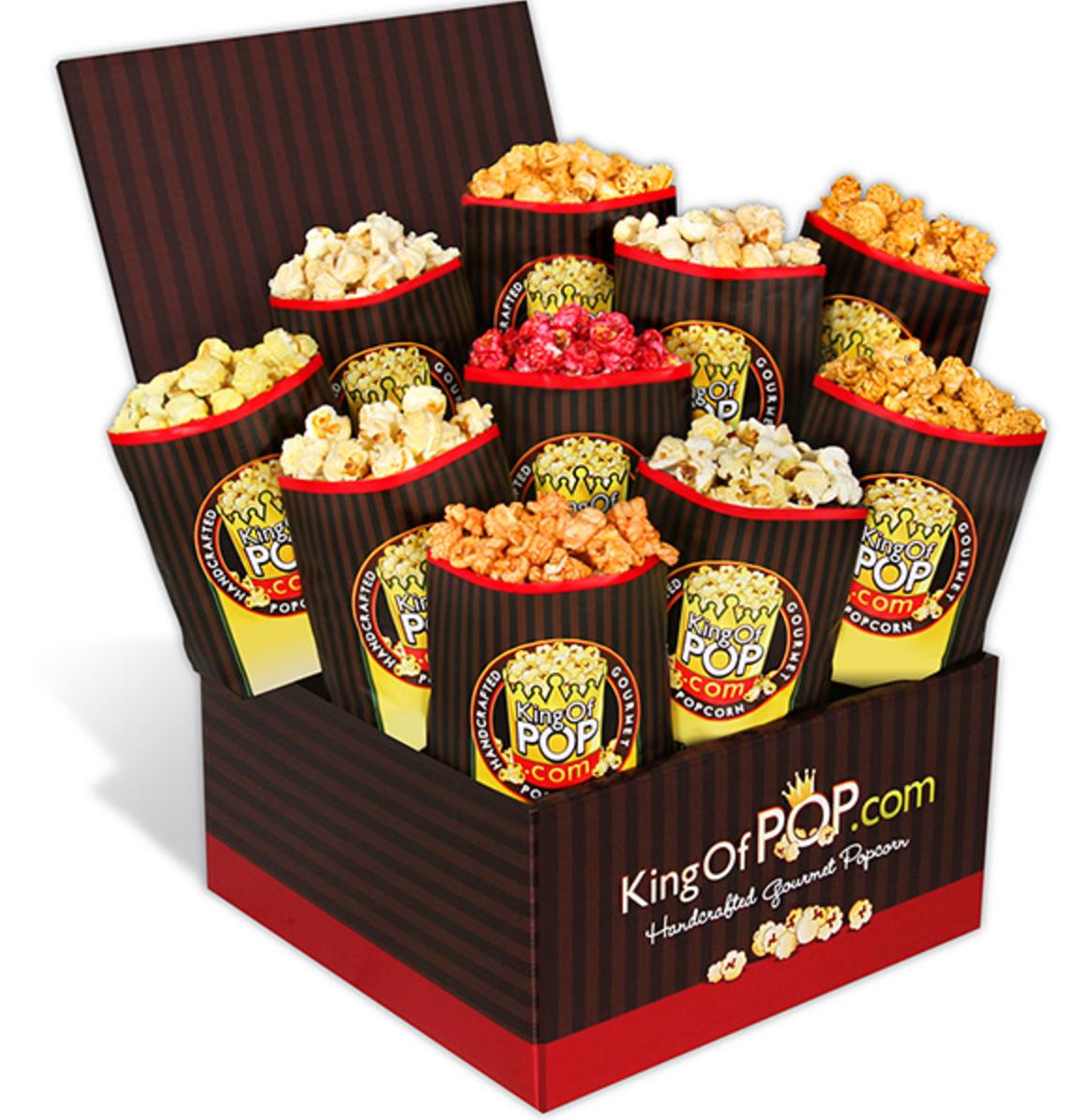 Father's Day Backyard BBQ Popcorn Sampler