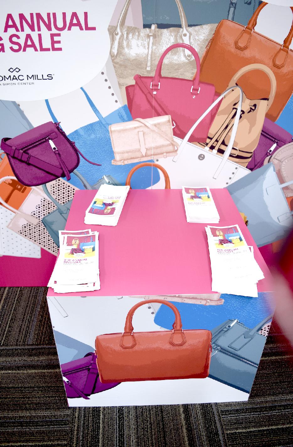 4c674d76e300 Annual Handbag Sale Potomac Mills Mall